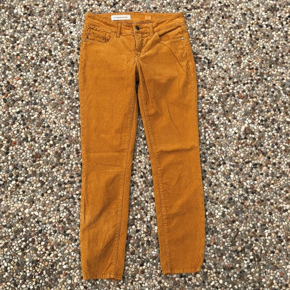 Helpful Pilcro And The Letterpress Jeans 28 Stet Anthropologie Skinny Slim Mustard Pants Women's Clothing Clothing, Shoes & Accessories